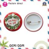 Insigne de bouton de Pin de matériaux de composants d'insigne de bouton de bidon