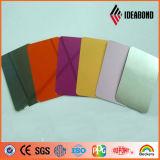 Fasade 훈장 중국제 건축을%s 색깔 미러 ACP 장의 PVDF 알루미늄 각종 종류