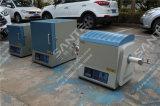1600c tubo del horno con MoSi2 elemento de calentamiento y tubo de alúmina