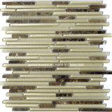 Самомоднейшая конструкция обнажает плитки мозаики стекла & мрамора