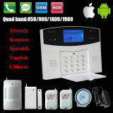 Anti-diefstal Wireless GSM Alarm System met Ce en RoHS Marks