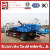 Dongfeng Abwasser-Saugtanker-Förderwagen, 5 Cbm fäkaler Förderwagen