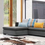 Sofà del tessuto con il Chaise (6116B)