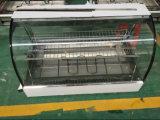 Hw-838 Réchauffeur d'aliments / Chauffage en acier inoxydable / Chauffe-verre courbé avec 2 pans