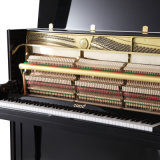Piano dritto nero 88 C23b