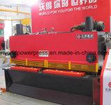 máquina hidráulica da guilhotina do metal de folha de 6mm