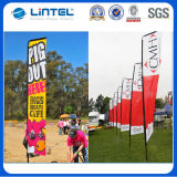 3.8m Swooper Flag, Flag Pole für Promotion (LT-17G)