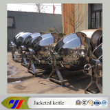 bouilloire revêtue de Brew de chauffage de vapeur 500L