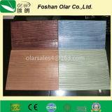 Tablón externo del listón de apartadero del grano del Ce del cemento de madera aprobado de la fibra