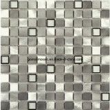 Interior DecorationのためのアルミニウムAlloy Mixed Steel Glass Mosaic