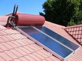 Desarrollado sol placa de panel plano calentador de agua solar