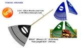 Сгребалка зубов пластмассы 26 с ручкой деревянной ручки стальной или телескопичной ручкой