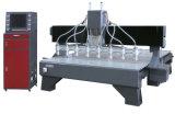Гравировальный станок машины машины CNC маршрутизатора CNC деревянный высекая машину (VCT-2125W-8H)