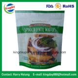 O saco de empacotamento Ziplock de pé para o amendoim, porcas, melão semeia o alimento seco