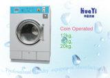 Kompakte Edelstahl-Münzen-Waschmaschine mit Geldschlitze
