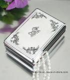 China-kundenspezifischer silberner Schmucksache-Kasten, Schmucksache-gesetzter Kasten, Metallschmucksache-Kasten