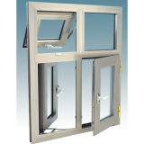 Constmart Powerful Double Glass Aluminium Sliding Window mit Mosquito Net