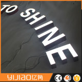 Muestra ligera de acrílico de la carta del estallido LED de la fábrica de Shangai