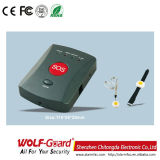 Wireless Mobile Call GSM SMS alarme médico com pulseira