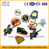 Distintivo su ordinazione di Pin del risvolto del metallo di marchio, distintivo molle di Pin dello smalto