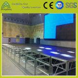 openluchtStadium van het Triplex van het Aluminium van 1.22m*1.22m Guangzhou China het Draagbare en Beweegbare