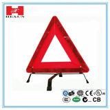 차 삼각형 경고 표시 안전 경고 레벨