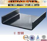 Taille de barre de profilé en u d'acier doux d'ASTM A36