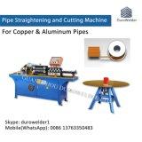 Автоматическое алюминиевое вырезывание Chipless трубы и машина выправлять