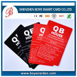 Impressão do cartão do PVC do baixo preço da alta qualidade