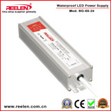 24V 2.5A 60W Waterproof IP67 Constant Voltage LED Power Supply Bg-60-24