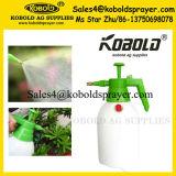 pulverizador da pressão do frasco do pulverizador do HDPE do jardim de 1L1.5L 2L com válvula de segurança