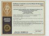 Câmara de ar de aço sem emenda de ASTM A106/ASTM A53/API 5L