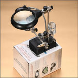 LED Light (EGS16132-C)를 가진 높은 Quality Desk Magnifier