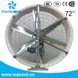 """Вентилятор оборудования 72 конвективного охлаждения свиньи """" поли с снабжением жилищем стеклоткани"""