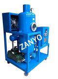 Dispositivo da purificação do óleo lubrificante do vácuo que trabalha em linha