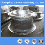 Bâti en acier personnalisé pour des pièces de machines d'exploitation de parties de broyeur de pièces de broyeur de cône/maxillaire