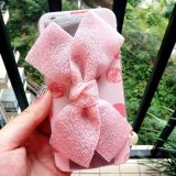 PC bonito Caso de Wave Bowknot do pendente da forma para iPhone6