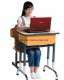 Solos escritorio y silla, conjuntos de la sala de clase de los muebles del estudiante