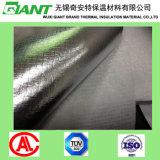 Tissu imperméable à l'eau de toiture de fibre de verre de clinquant