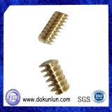 Engranaje de gusano tamaño pequeño de encargo