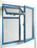Ventana de aluminio con bisagras cara del marco de la inclinación de Topbright