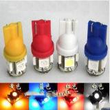 도매 12V T10 5SMD 5050 차 LED 자동 전구 W5w 얼음 Blue/T10 LED
