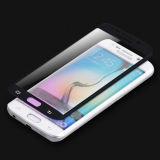 Protector de la pantalla del vidrio Tempered de la cobertura total para el borde de la galaxia S6 de Samsung con las caras curvadas