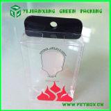 Cajas de embalaje transparentes colgantes de la gota del plástico