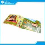 Livro do miúdo da cor cheia de ponto de sela da impressão