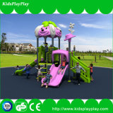 Campo de jogos ao ar livre do equipamento da ginástica das cores comerciais luxuosas dos ricos das crianças
