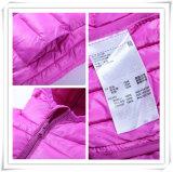 Малыша пальто проложенное мальчиком куртки куртки вниз детей высокого качества цветастое куртки 605