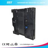 Niedriger Innenfarbenreicher LED Mietbildschirm des Preis-P3.91mm mit Druckguss-Schrank