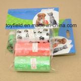 Saco Scented plástico do tombadilho do cão do saco do tombadilho do animal de estimação