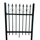 Dekoratives Residential Wrought Iron Fence Lawn und Garten Fence
